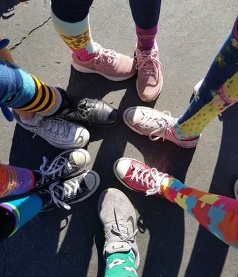 Día del calcetín tonto