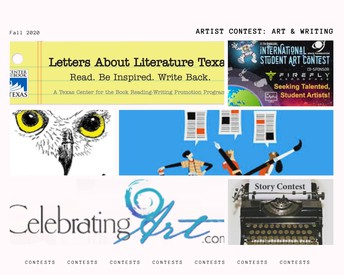Contests for Artists & Writers