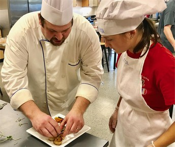 Chef Polk 'humbled' by Teacher of Year nomination