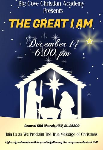 BCCA Chirstmas Program (Dec 14), 6:00 pm