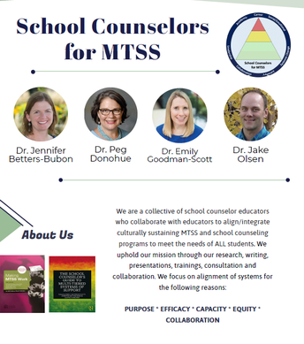 MTSS & School Counseling Tier 1: Creating Trauma Sensitive Schools and Classrooms March 24, 2021