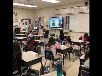 3G virtual visit with Father Mario