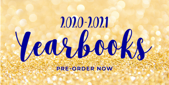 2020-2021 Yearbooks - ON SALE NOW!