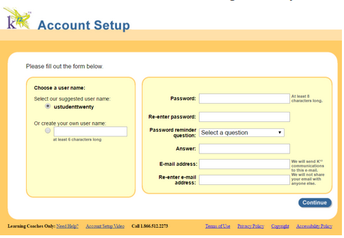 LC Account Set Up