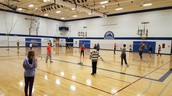 Badminton in PE