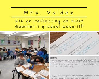 6th gr Mrs. Valdez ~ Science