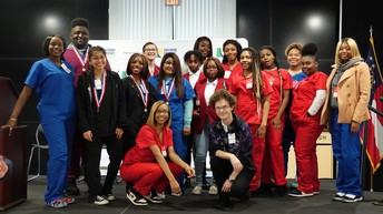 Hutchings College and Career Academy SkillsUSA Members Advance to State Competition