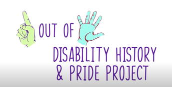 OCTOBER IS DISABILITY HISTORY MONTH!