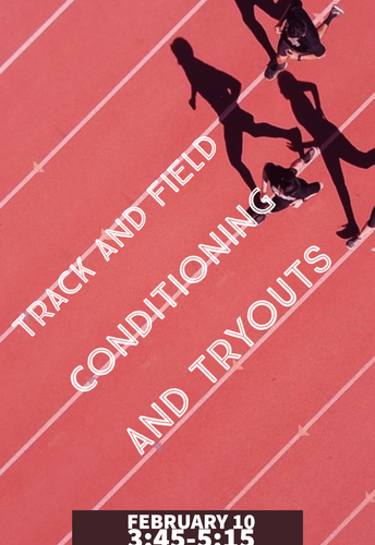 Boys and Girls Track Conditioning and Tryouts