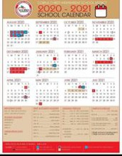District Calendar avialable to mark important upcoming dates!