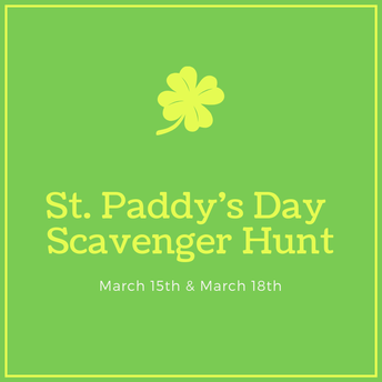 St. Paddy's Day Scavenger Hunt