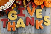 Teachers Appreciation Thanksgiving Luncheon