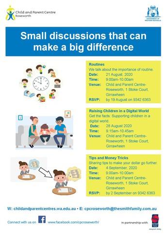 Parenting workshops in Girrawheen