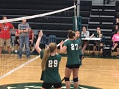 Volleyball has begun!