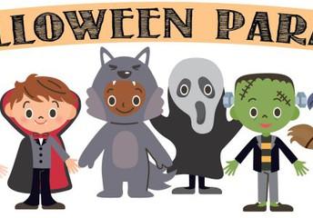 Halloween Parade- 10:00