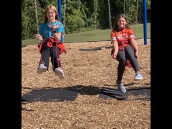 New playground equipment