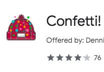 Confetti! Confetti All Over!