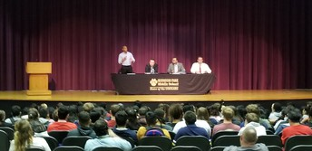 MPMS and MPHS Welcomed MP City Council Candidates!