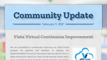 VUSD Community Update of February 16