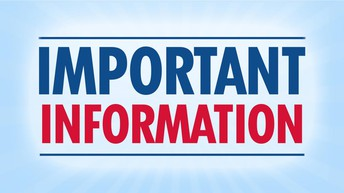 CHANGE of Information for April 12th - 16th due to PROJECT VACCINATE