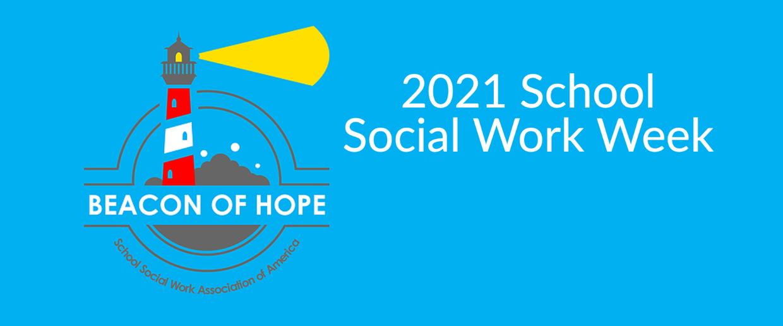 School Social Work Week graphic