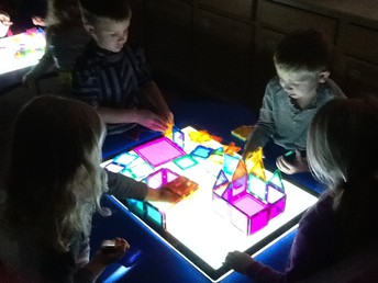 Thank you GEFFE for funding our new light tables!