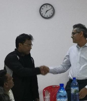TM Roshan befriending TM Krishn