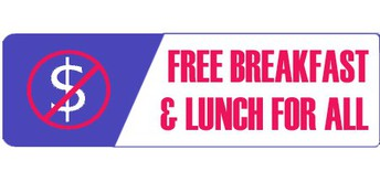 Free Breakfast & Lunch 21-22