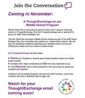 Thought Exchange Flyer