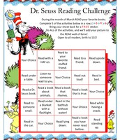 Dr. Seuss Reading Challenge