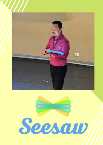 Seesaw Parent Workshop - by Mr Craig Gamble