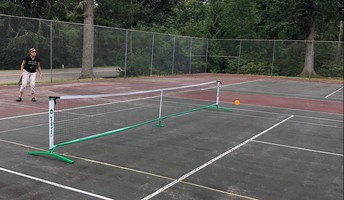 Pickleball at the Tennis Courts