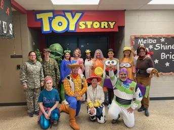 Halloween Hallway Decorating Contest