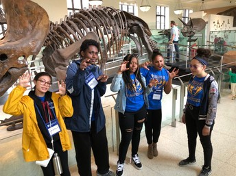 Hanging out with the dinosaurs at the American Museum of Natural History