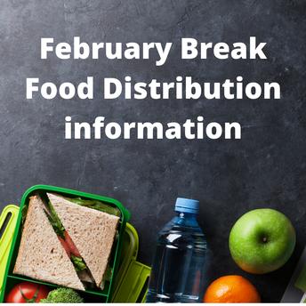 Food distribution for February break