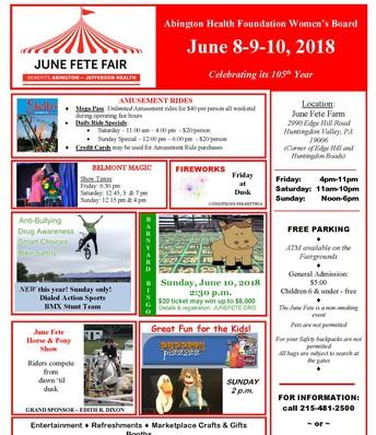 June Fete Fair