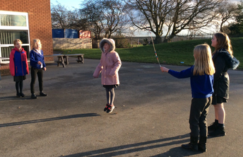 Y4 playtime teamwork