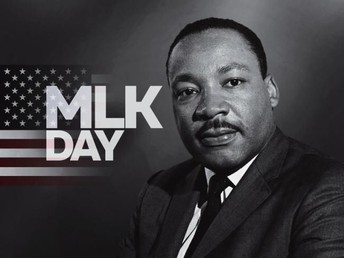 We celebrate Martin Luther King Jr Day