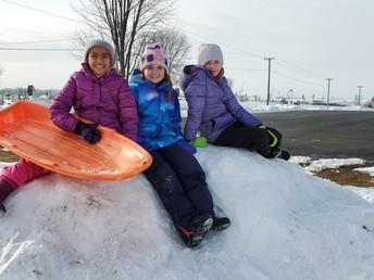 Snow Much Fun in Fifth Grade