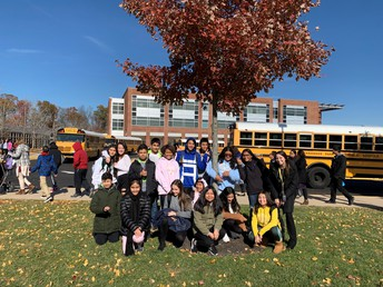 Ms. Teitelman's Class Headed to Hylton Performing Arts Center!