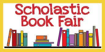 Spring Scholastic Book Fair!