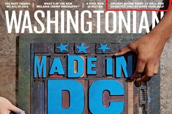 VF featured in Washingtonian Magazine