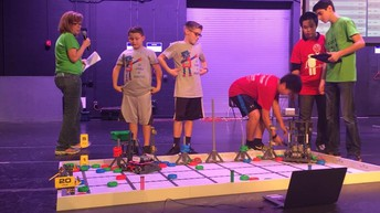 RoboRockets Competing