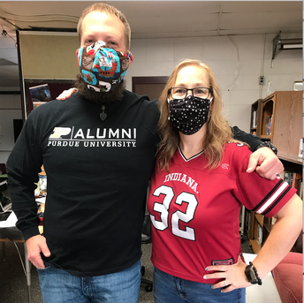 Coworkers/  Friends/     College Rivals!