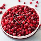 """Cranberrys are a """"Super Food"""" - & a Thanksgiving Staple"""