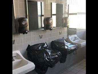 Bathroom spacing