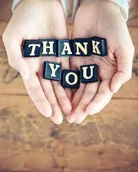 Thank You, Thank You, Thank You!