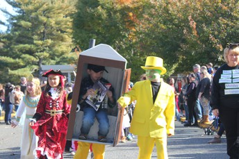 Halloween Parade at Lincroft School