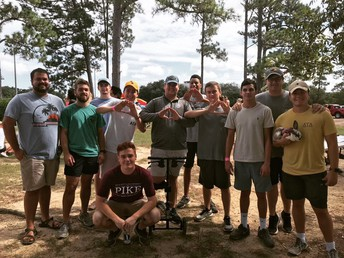 1st Place in Pike's Fireman Challenge