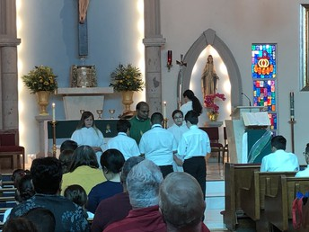 Fr. Thumma asks us to see Christ in each other.